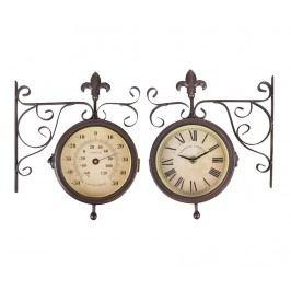 Venkovní nástěnné hodiny Double Faced