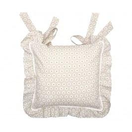 Povlak na sedací polštář Coco Grey 40x40 cm