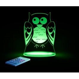 Dětská noční lampička Owl
