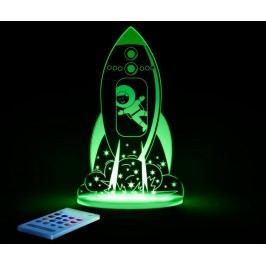 Dětská noční lampička Rocket