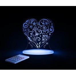 Dětská noční lampička Love Heart