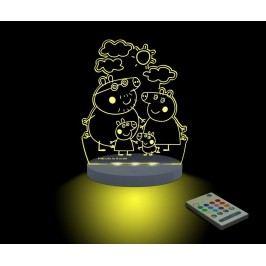 Dětská noční lampička Pepa Pig Family