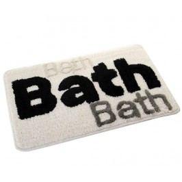 Koupelnová předložka Bath Letters 45x70 cm
