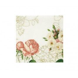 Sada 20 ubrousků Pink Blossom