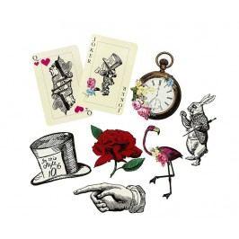 Sada 8 štítků Truly Alice Whimsical