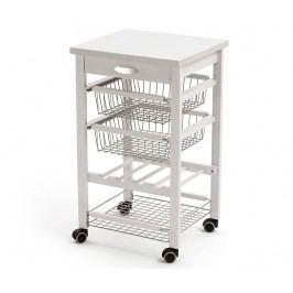 Kuchyňský vozík Arturo Off White