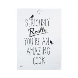 Kuchyňská utěrka You're Amazing 19x24.5 cm