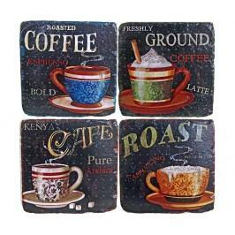 Sada 4 podtácků Coffee Flavour