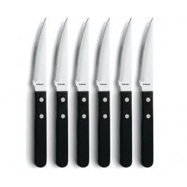 Sada 6 nožů na pečené maso Italy