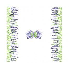 Ubrus Lavender Rise 140x140 cm