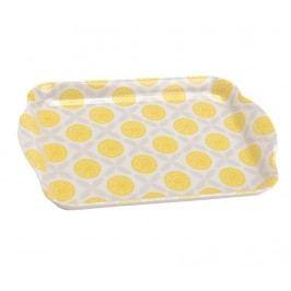 Servírovací podnos Yellow Citrus