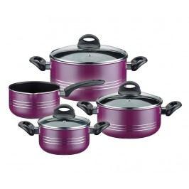 Sada hrnců na vaření, 7 dílů Milano Lilac