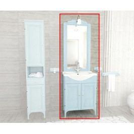 Třídílná sada nábytku do koupelny Cleo Light Blue