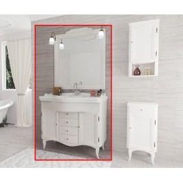 Třídílná sada nábytku do koupelny Daiana White