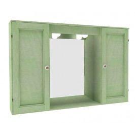Skříňka se zrcadlem Copricolonna Light Green