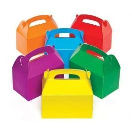Sada 6 dárkových krabiček  na zdobení Colored Boxes