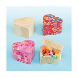 Sada 4 krabiček na zdobení Tiny Boxes Dekorace na oslavu
