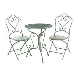 Sada stůl a 2 židle do exteriéru Finchwood Green