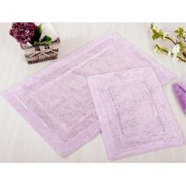 Sada 2 koupelnových předložek Superior Lilac