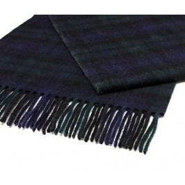 Šála Black & Blue 25x190 cm