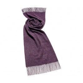 Šála Plain Purple 70x185 cm
