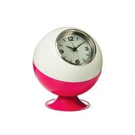 Stolní hodiny Retro White Pink