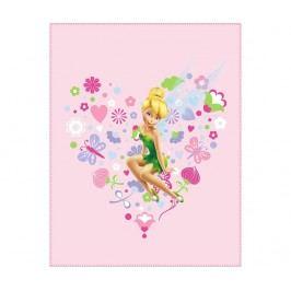 Pléd Disney Tinkerbell Springtime 110x140 cm