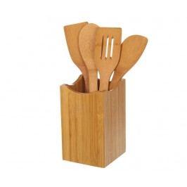Sada 4 kuchyňských náčiní s držákem Bamboo