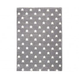 Koberec Grey Little Stars 120x180 cm