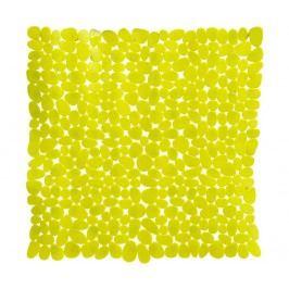 Předložka do vany Pebble Rectangular Yellow 54x54 cm
