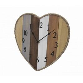 Nástěnné hodiny Lines Heart