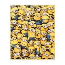 Pléd Minions Family 110x140 cm