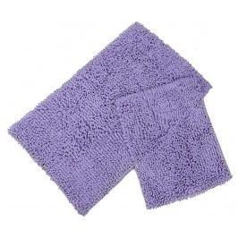 Sada 2 koupelnových předložek Drop Lilac