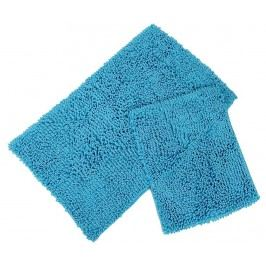 Sada 2 koupelnových předložek Drop Turquoise