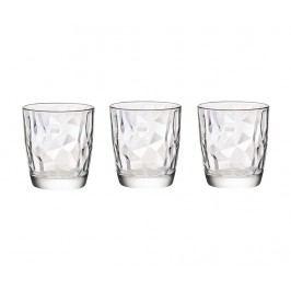 Sada 3 sklenic Diamond Clear 300 ml