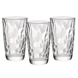 Sada 3 sklenic Diamonds 470 ml