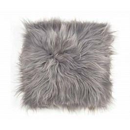 Jehněčí kožešina Icelandic Long Grey 37x37 cm