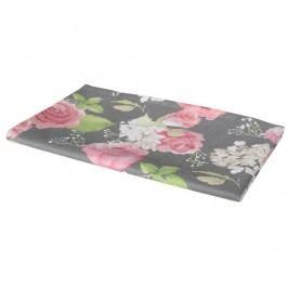 Středový ubrus Flowery Dark 40x140 cm