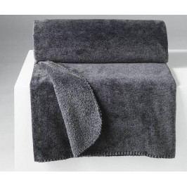 Pléd Sweden Dark Grey 125x150 cm