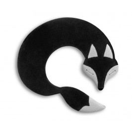 Hřejivý polštář Noah Fox Black 25x30 cm