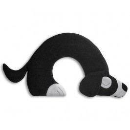 Hřejivý polštář Bobby Dog Black 21x34 cm