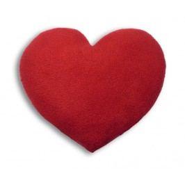 Hřejivý polštář Heart  Red 22x22 cm