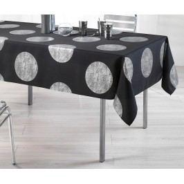 Ubrus Platine Black 150x240 cm