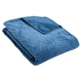 Pléd Checkered Blue 130x170 cm