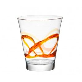 Sklenice Lacca Orange 385 ml