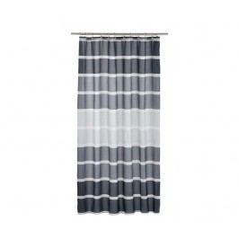 Sprchový závěs Stripes Black 180x200 cm