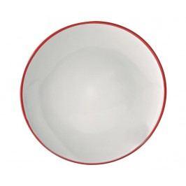 Mělký talíř Cosmos Red