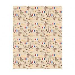 Ubrus Paris Delight Cream 140x220 cm