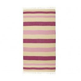 Ručník Pestemal Moss Purple Pink 95x175 cm