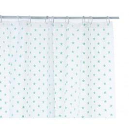 Sprchový závěs Mint Stars 180x180 cm